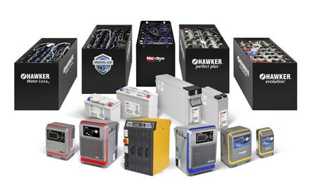 hawker batterier och laddare